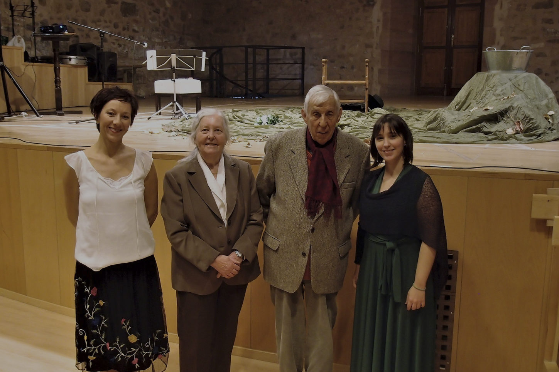 Las Seis Doncellas de Juan Ramón Jiménez - Silvia Nogales y Esther Acevedo. Sigüenza, con Romanillos