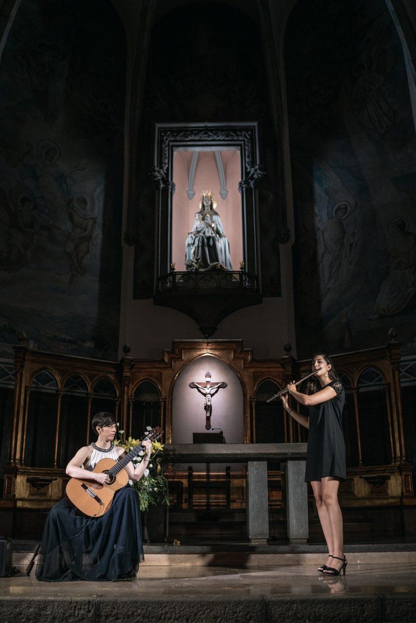 Silvia Nogales y Verónica Rodríguez
